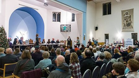 The St Albans environmental hustings. Picture: St Albans Friends of the Earth
