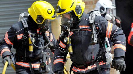 Cambridgeshire fire and rescue service were called to a fire in St Neots.