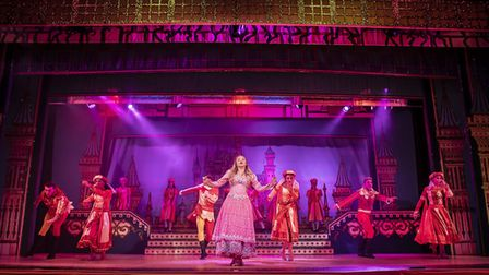 Jemma Carlisle as Princess Aurora in St Albans pantomime Sleeping Beauty at The Alban Arena. Picture