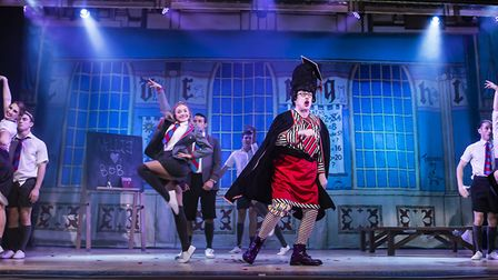 The Baggy Trousers Madness scene in St Albans pantomime Sleeping Beauty at The Alban Arena. Picture:
