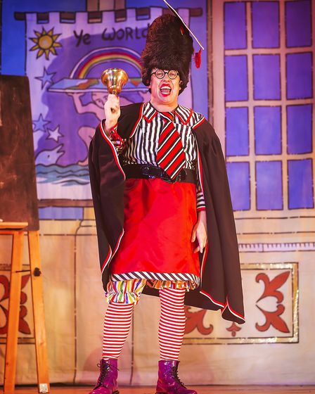 Nurse Nellie (Bob Golding) in St Albans pantomime Sleeping Beauty at The Alban Arena. Picture: Pamel