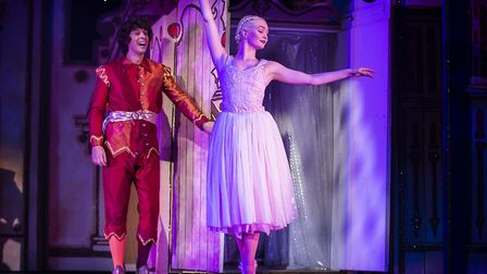 Andy Day as Jangles in St Albans pantomime Sleeping Beauty at The Alban Arena. Picture: Pamela Raith
