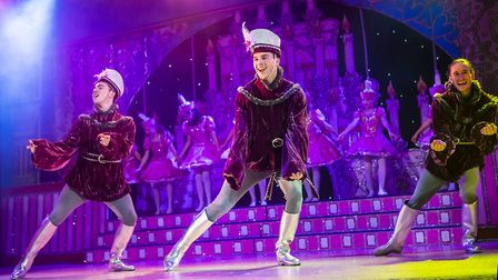 St Albans pantomime Sleeping Beauty at The Alban Arena. Picture: Pamela Raith