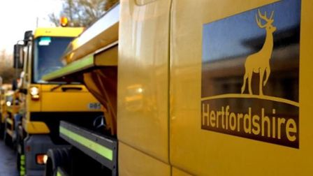Comet readers have been given the chance to name Hertfordshire County Council's new gritter. Picture