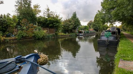 The Grand Union Canal runs close to Rickmansworth. Picture: DANNY LOO