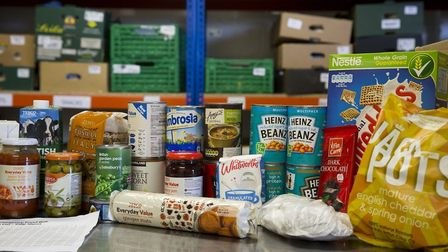Foodbanks in the region have seen a rise in demand for the service in the last year