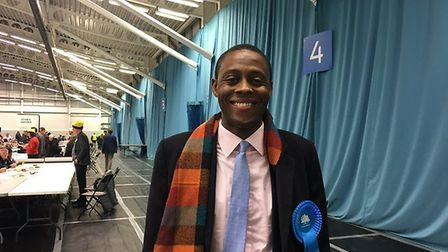 Bim Afolami, the Conservative candidate for Hitchin and Harpenden. Picture: Sasha Baker