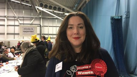 Kay Tart, the Labour candidate for Hitchin and Harpenden. Picture: Sasha Baker