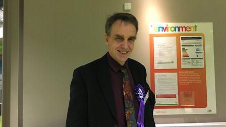 Sid Cordle, the Christian People's Alliance candidate for Hitchin and Harpenden. Picture: Sasha Bake