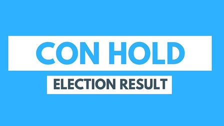 Shailesh Vara was re-elected to the NW Cambridgeshire seat.