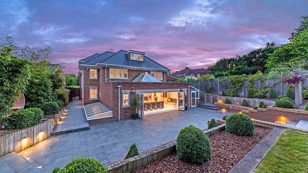 The seven-bed property covers approximately 10,000 sq ft. Picture: Rightmove