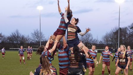 OA Saints battled to a big win over Hove in the Women's Championship South at Woollams. Picture: PAU