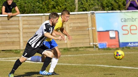 Ben Seymour-Shove hit a late equaliser for St Ives Town in their Boxing Day draw at Needham Market.