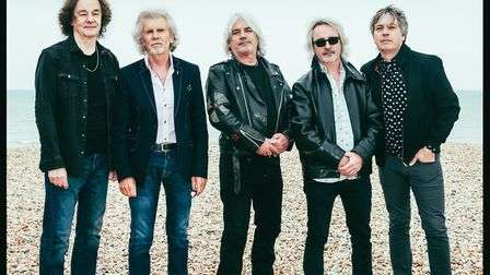 She's Not There band The Zombies will play a homecoming Hertfordshire gig at Harpenden Public Halls.