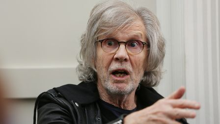 Rod Argent of The Zombies talking to the Herts Advertiser at the Clarion Hotel in St Albans after th