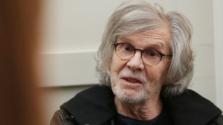 Rod Argent of The Zombies in St Albans after the band were inducted into the Rock and Roll Hall of F