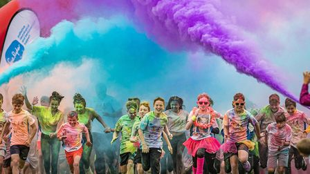 Priory Park in St Neots will host a Colour Rush event to raise money for St John's Hospice
