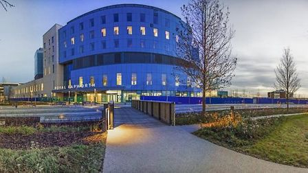 The new Royal Papworth Hospital in Cambridge. Picture: PAPWORTH HOSPITAL.