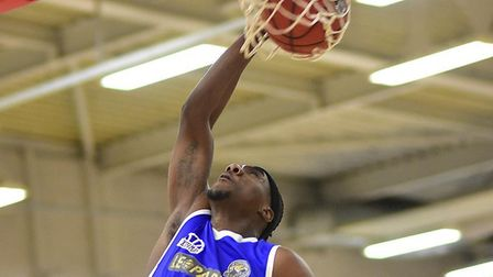 Jerelle Okoro in action for Leopards against Reading Rockets.