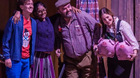 Company of Ten's Christmas show George's Marvellous Medicine at the Abbey Theatre