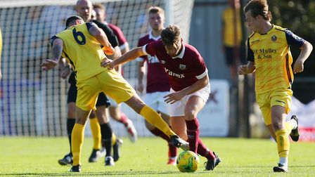 Brad Sach says the three points for Potters Bar Town at Wingate & Finchley were the most important d