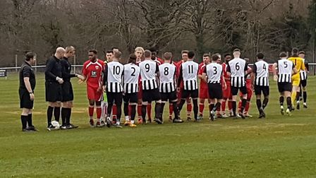 The first Colney derby of the season took place at the Recreation Ground between Colney Heath and Lo