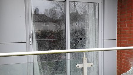 Police are investigating after criminal damage to windows at a property in Charrington Place, St Alb