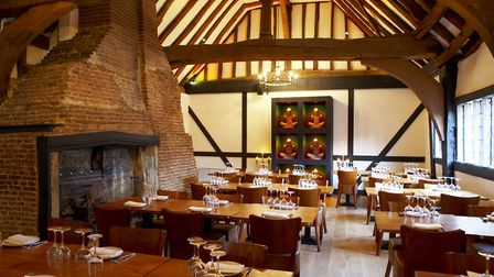 The beautiful surroundings at Thai Square St Albans. Picture: Thai Square