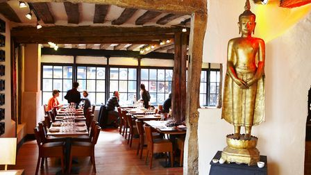 The view upon arriving at Thai Square St Albans in George Street. Picture: Thai Square