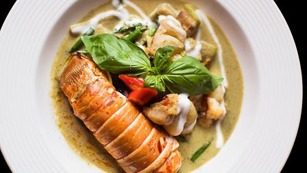 The royal green curry. Picture: Thai Square