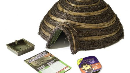 7. Prickly business: this hedgehog care pack is avilable from Squires Garden Centres. Picture: Squir