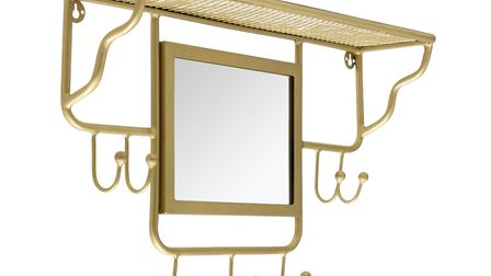 9. Avery Wall Mounted Coat Rack with Mirror, Cult Furniture. Picture: PA Photo/Handout