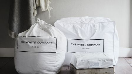 10. Selection of Cotton Large Storage Bags, The White Company. Picture: PA Photo/Handout