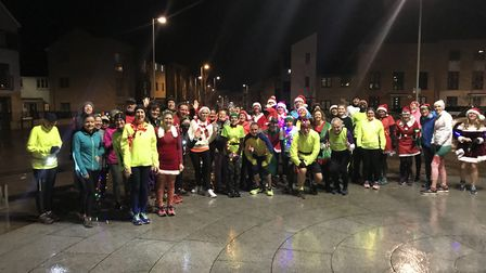 Runners from around St Neots came together for the run