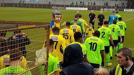 St Albans City hosted Hemel Hempstead Town on Boxing Day in the National League South.