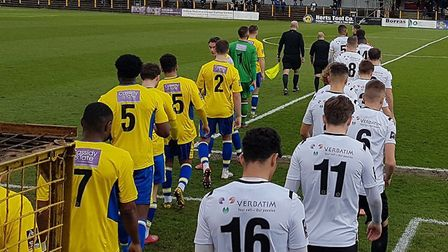 St Albans City took on Hungerford Town in a vital National League South clash at Clarence Park.