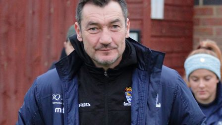 St Neots Town director Iain Parr. Picture: DAVID R. W. RICHARDSON/RICH IN VIDEO 2019