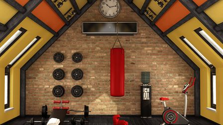 The most important thing when setting up a home gym is getting the flooring right. Picture: iStock/P
