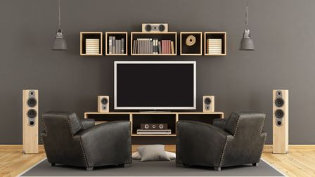 The basic level home cinema is little more than a wall-mounted widescreen TV, with large, reclining