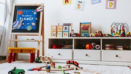 Playrooms are simple to construct, if rather less simple to keep clean... Picture: iStock/PA