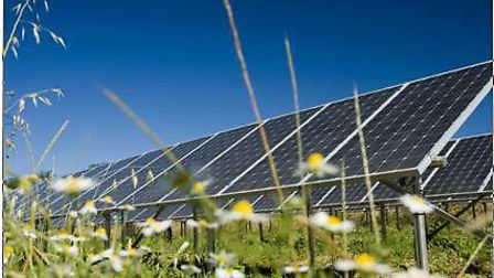 A solar farm has been proposed for land at Smallford Pit in St Albans. Picture: Archant