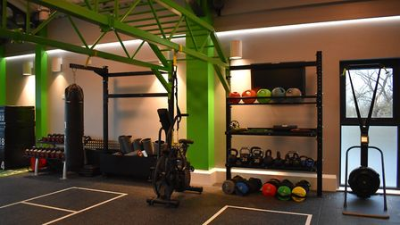 The money has gone towards new equipment, new resistance machines and a larger free weights area. Pi