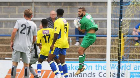 Dean Snedker is aiming to keep St Albans City's improved form going for a lot longer yet. Picture: K