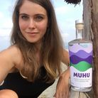Sally Wynter developed the CBD-infused gin in her kitchen in Lattimore Road Picture: Sally Wynter