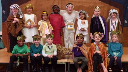 The nativity at Cromwell School in Hinchingbrooke. Picture: ARCHANT