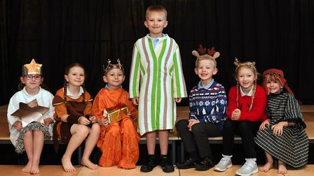 The nativity at Winhills Primary School. Picture: ARCHANT
