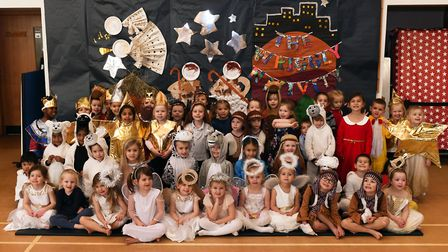 The nativity at Stukeley Meadows Primary School. Picture: ARCHANT