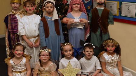 The nativity producation at Abbots Ripton School. Picture: ARCHANT