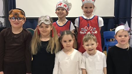 Key Stage One pupils at the Round House Primary School performed A Christmas Recipe
