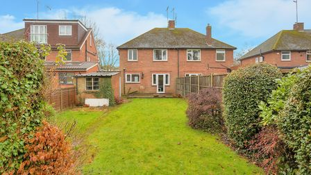 The property offers plenty of potential to extend. Picture: Frost's